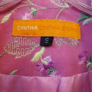 Cynthia Steffe Jackets & Coats - Cynthia Steffe embroidered coat